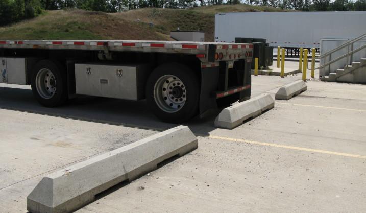Truck Parking Block